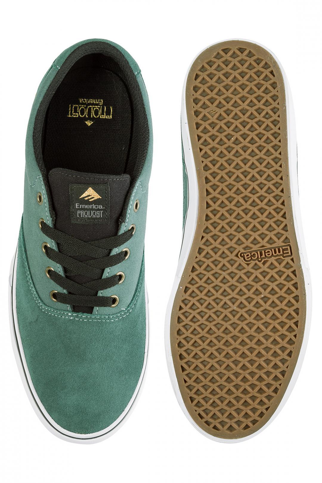 Uomo Emerica Provost Slim Vulc turquoise | Scarpe da skate