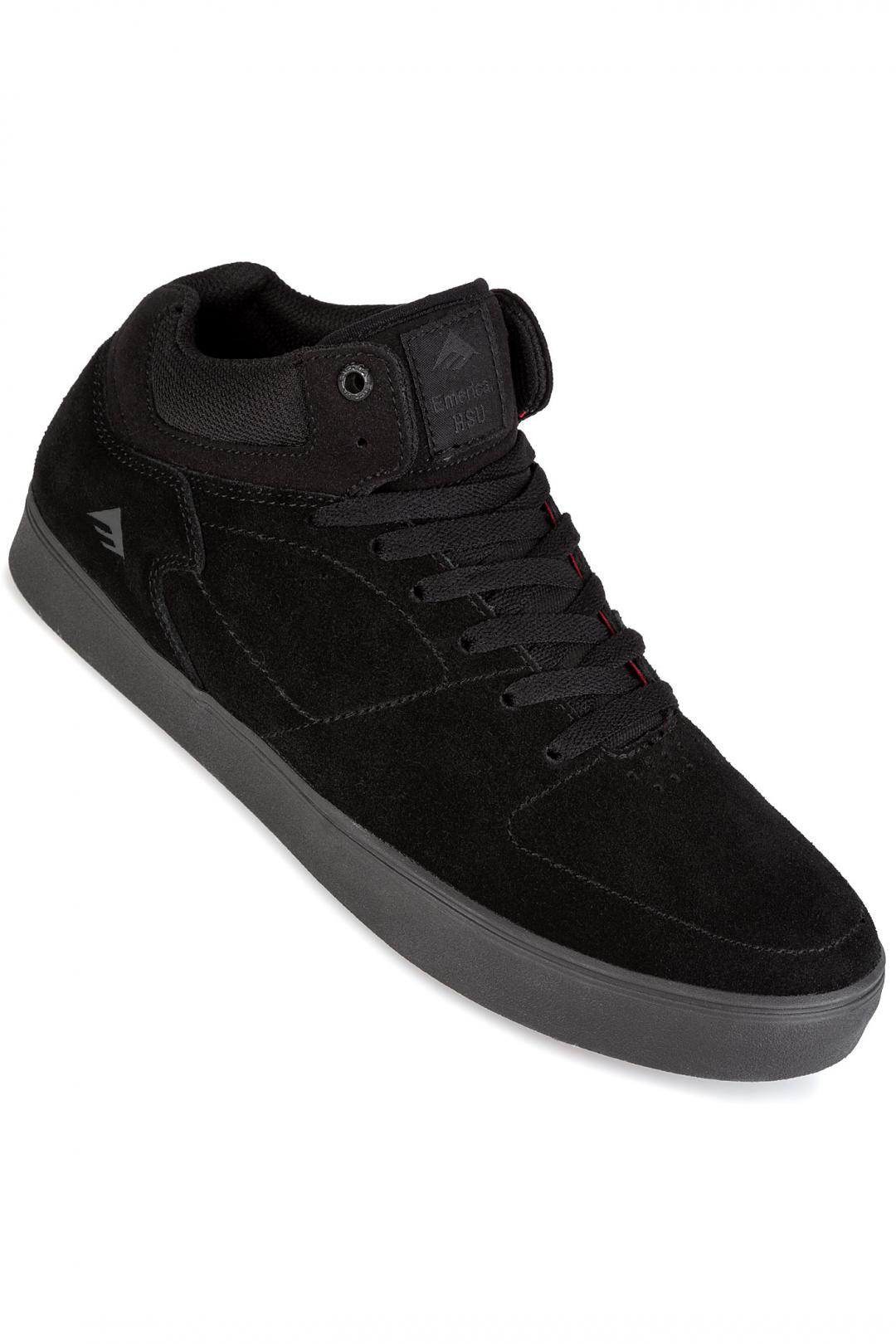 Uomo Emerica The HSU G6 black dark grey | Sneaker