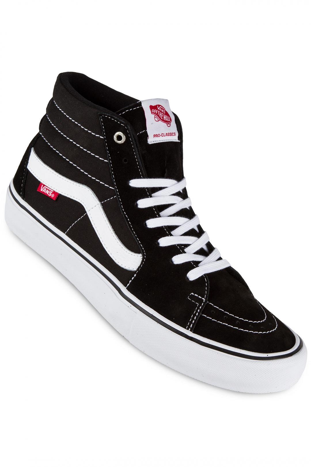 Uomo Vans Sk8-Hi Pro black white | Sneaker