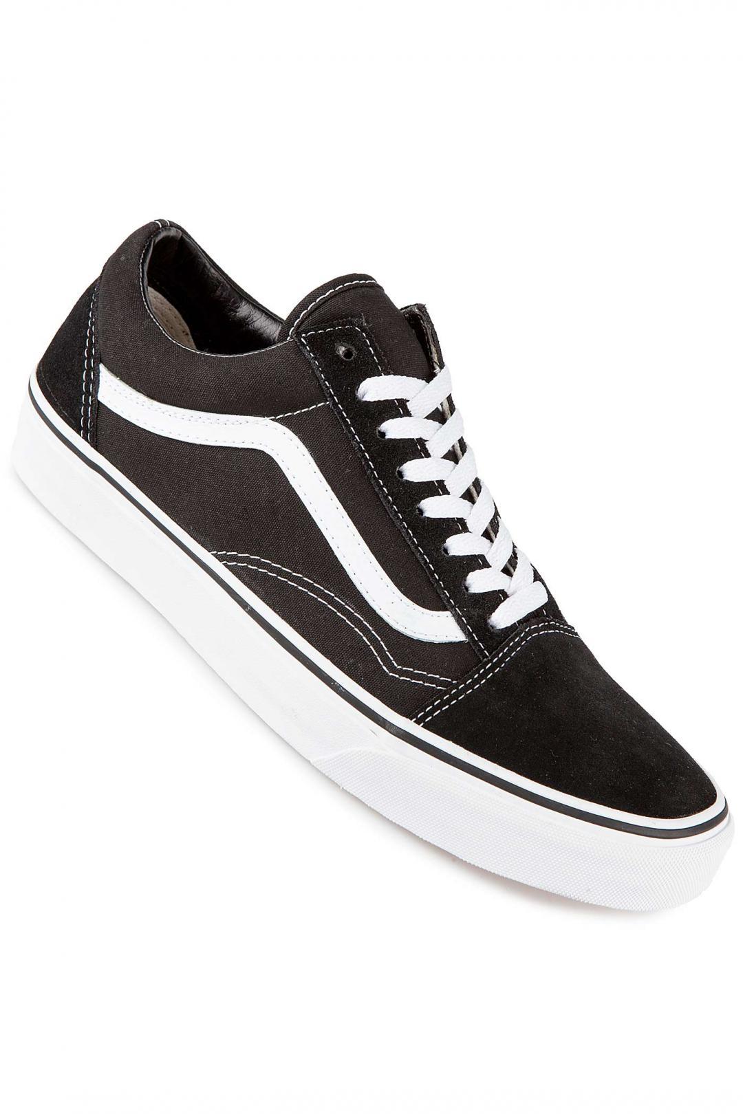 Uomo/Donna Vans Old Skool black white   Scarpe da skate