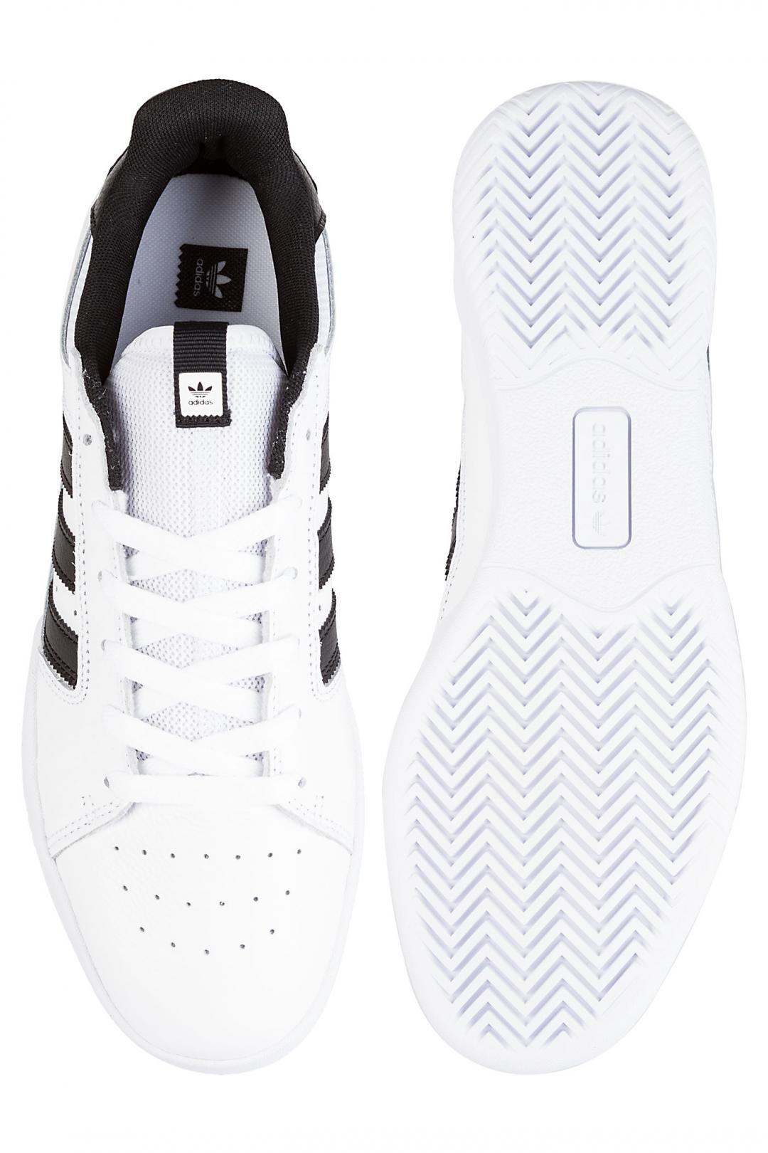 Uomo adidas Skateboarding VRX Low white core black white | Sneaker
