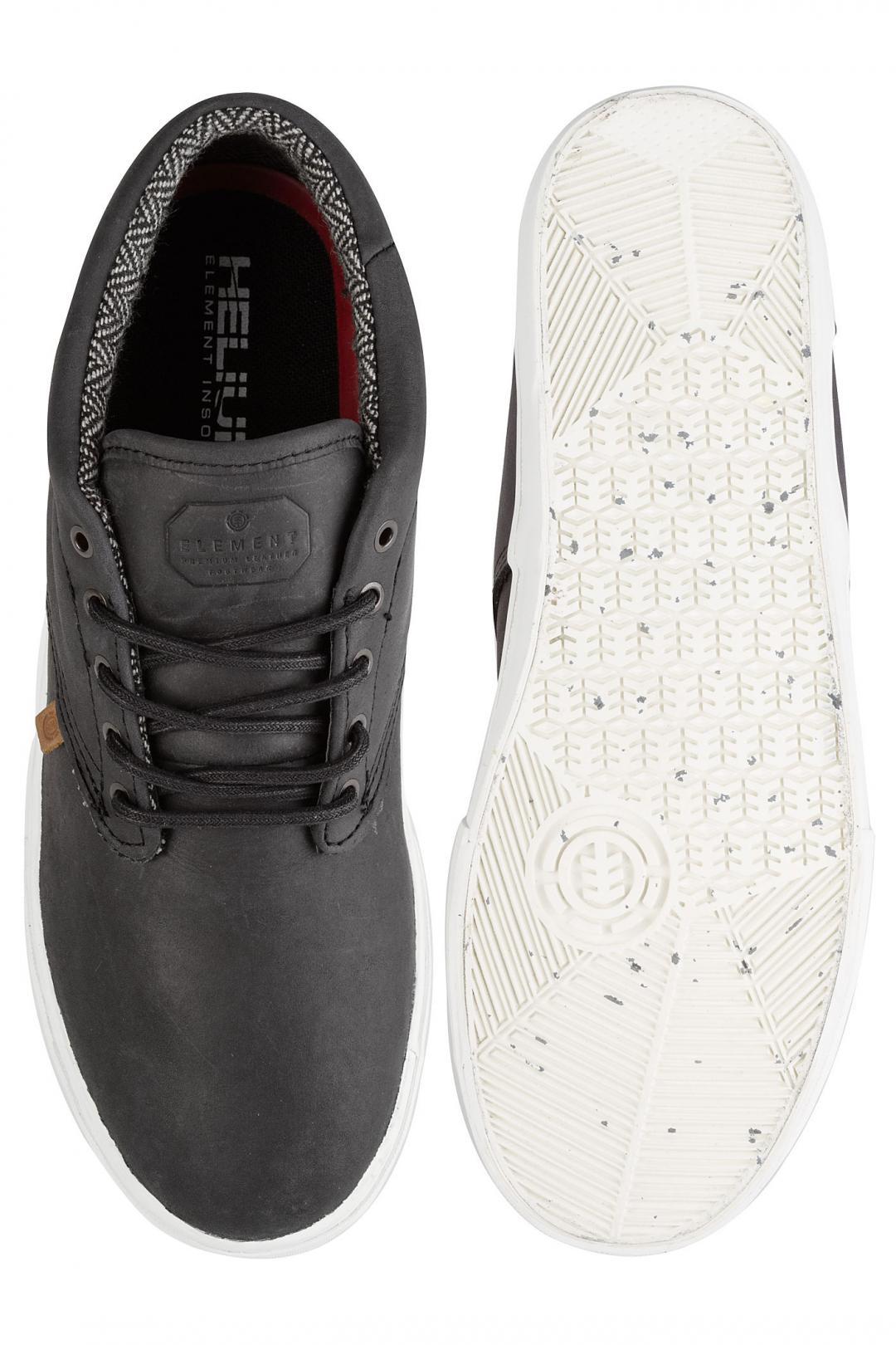 Uomo Element Preston black premium   Sneaker