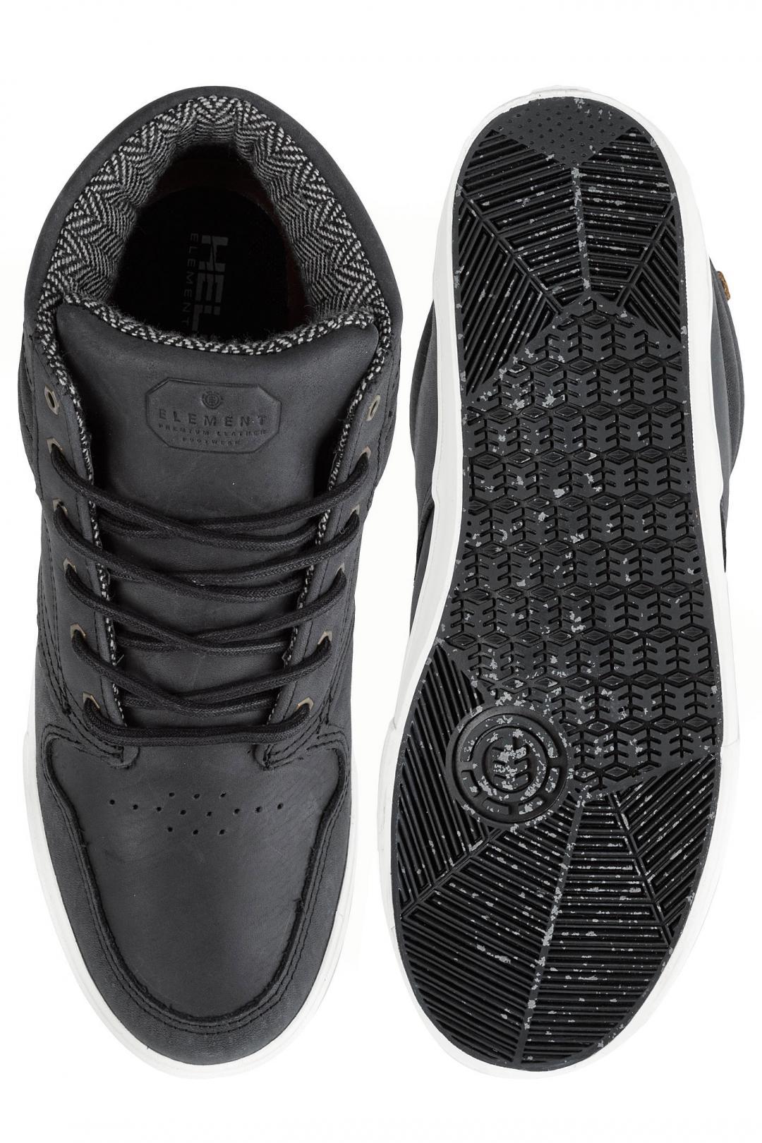 Uomo Element Topaz C3 Mid black premium | Scarpe da skate