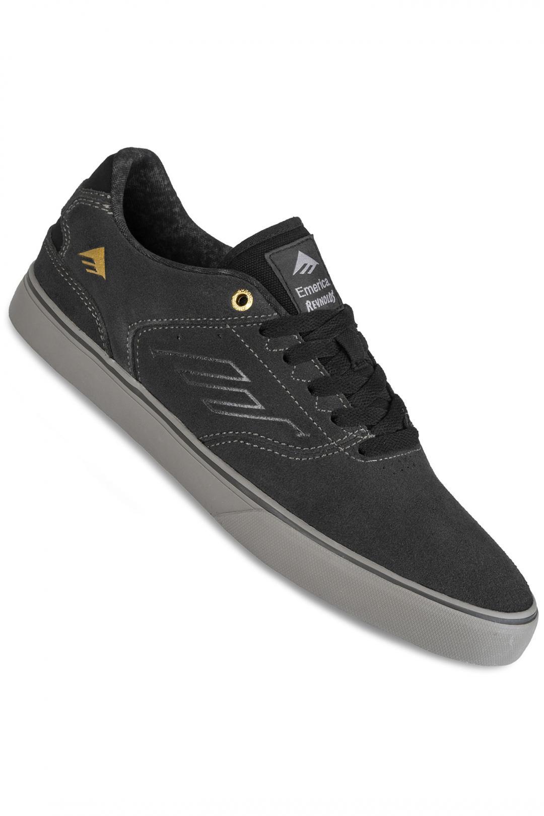 Uomo Emerica The Reynolds Low Vulc dark grey grey | Sneaker