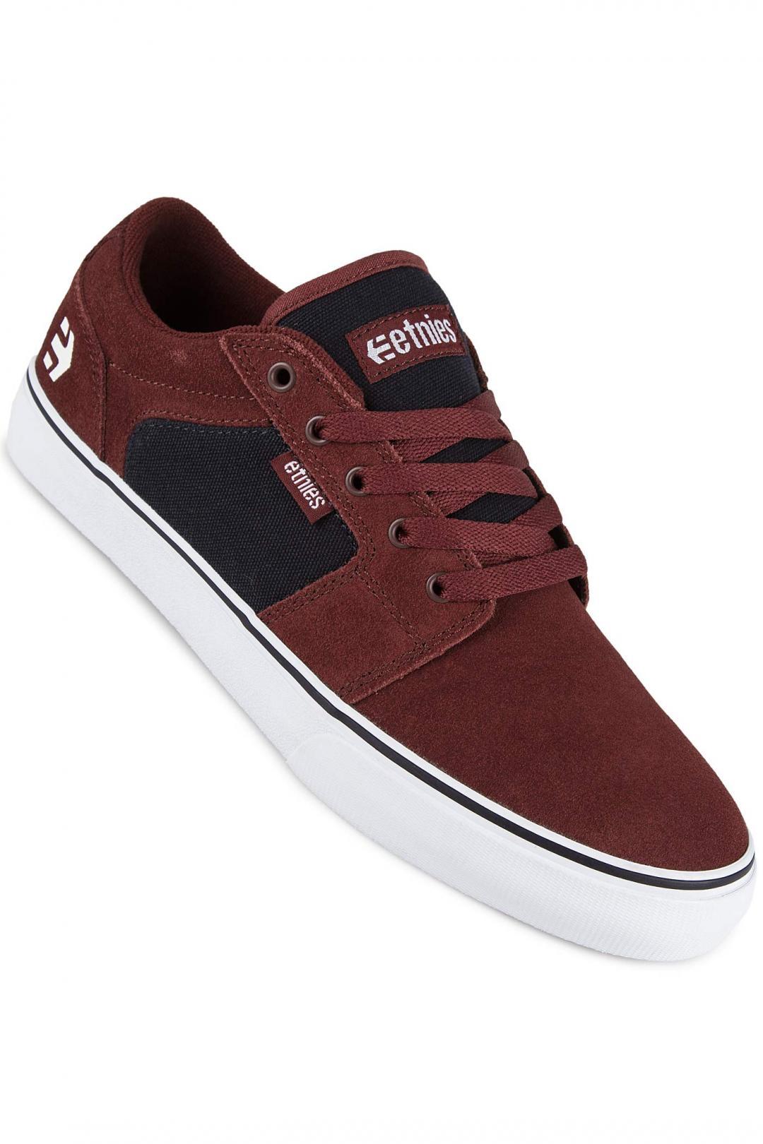 Uomo Etnies Barge LS red navy | Sneaker