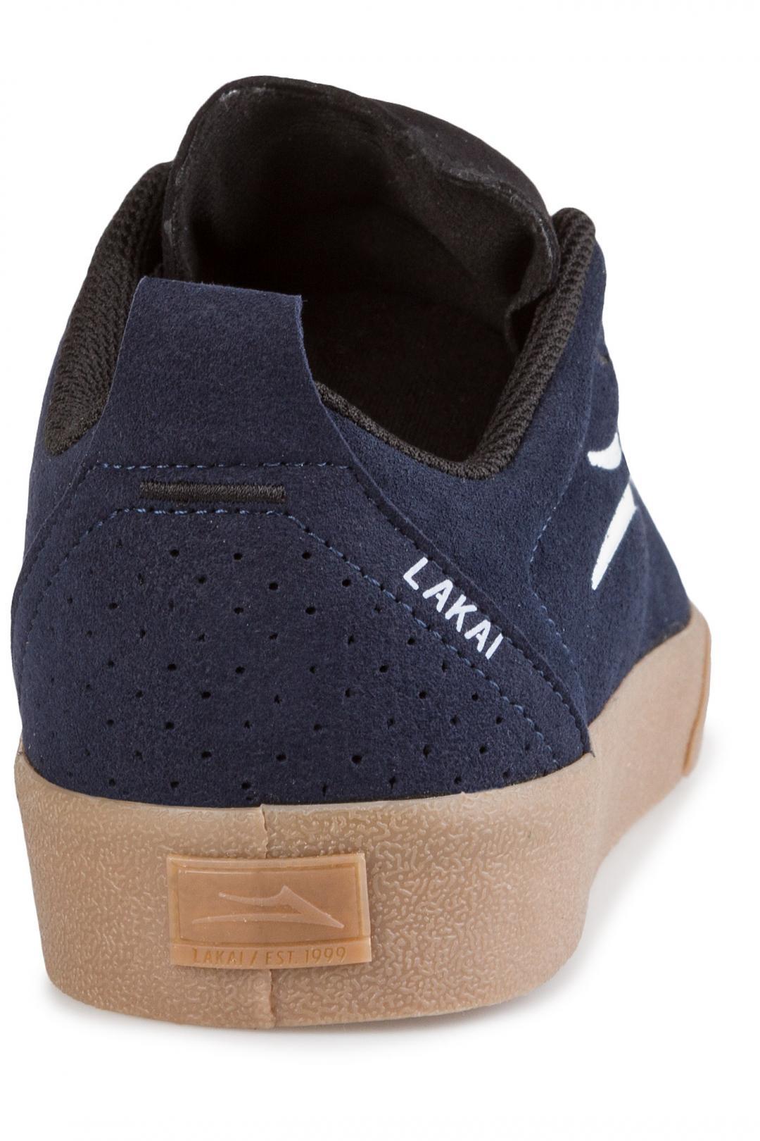 Uomo Lakai Bristol Suede navy gum | Sneakers low top