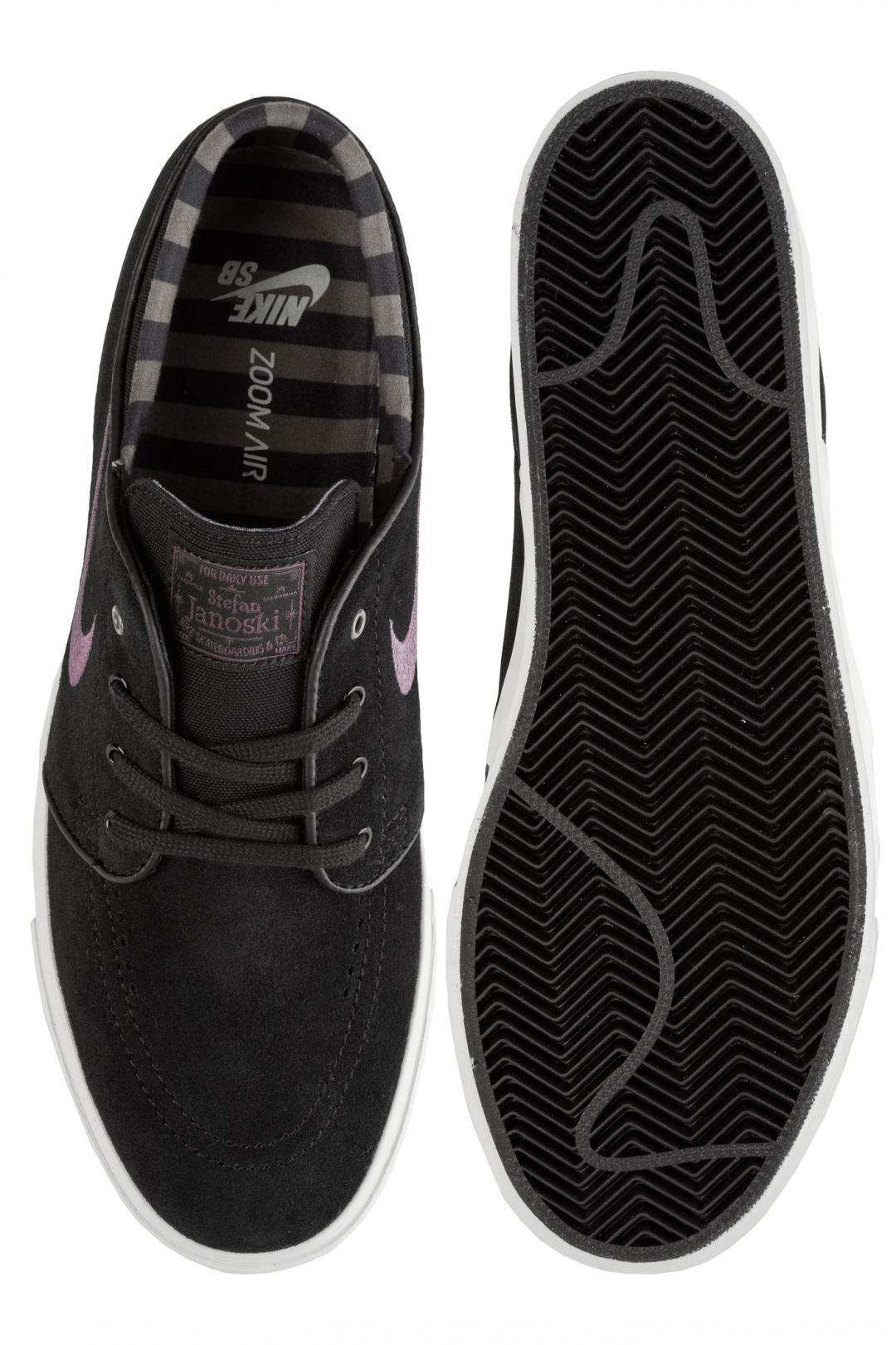 Uomo Nike SB Zoom Stefan Janoski black pro purple ridgerock light | Sneakers low top