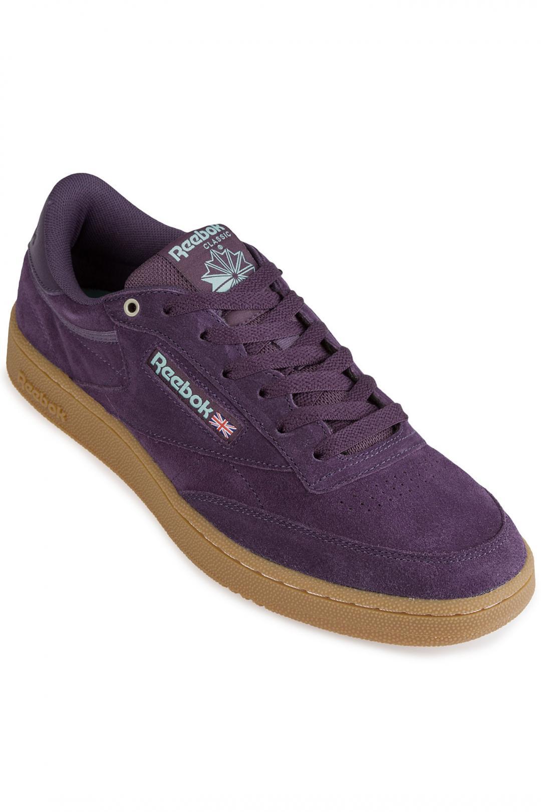 Uomo Reebok Club C 85 MU deep purple malachi | Sneakers low top