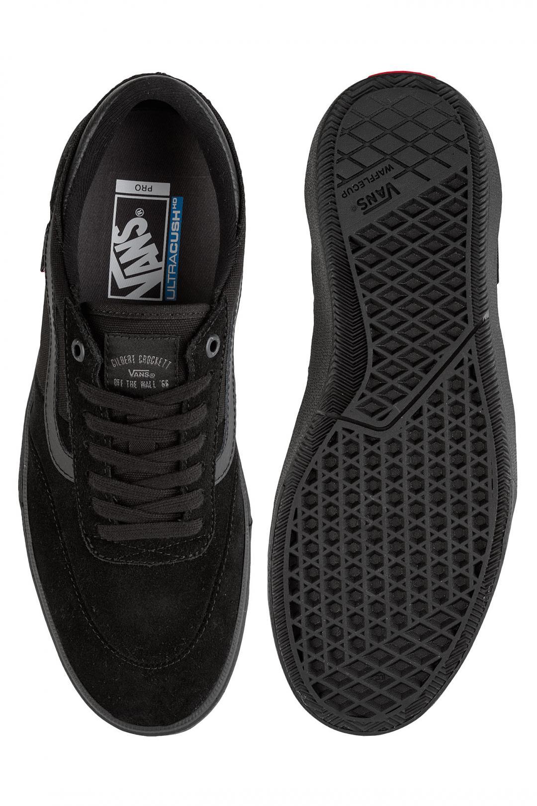 Uomo Vans Gilbert Crockett blackout | Sneakers low top