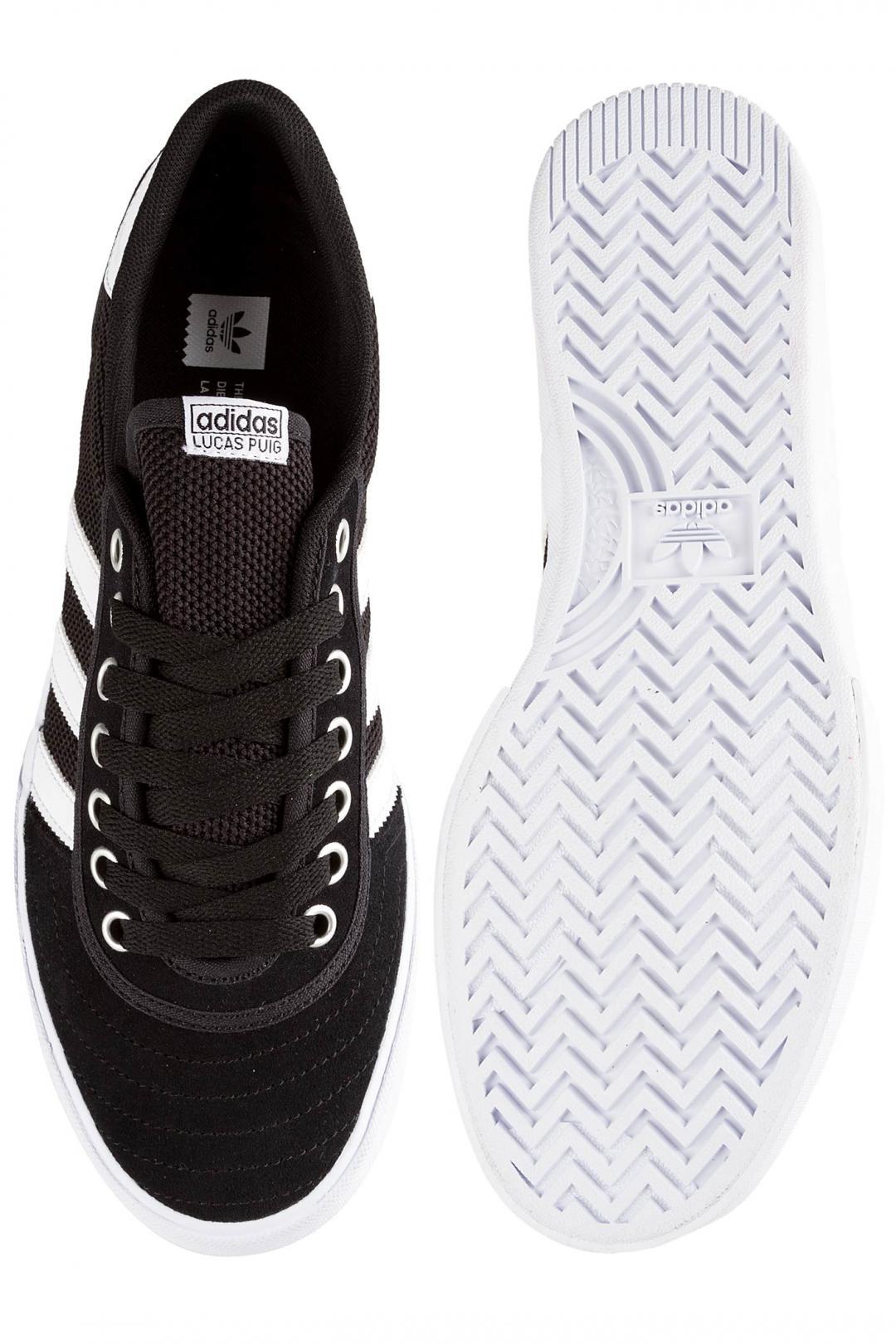 Uomo adidas Skateboarding Lucas Premiere ADV black white white | Scarpe da skate