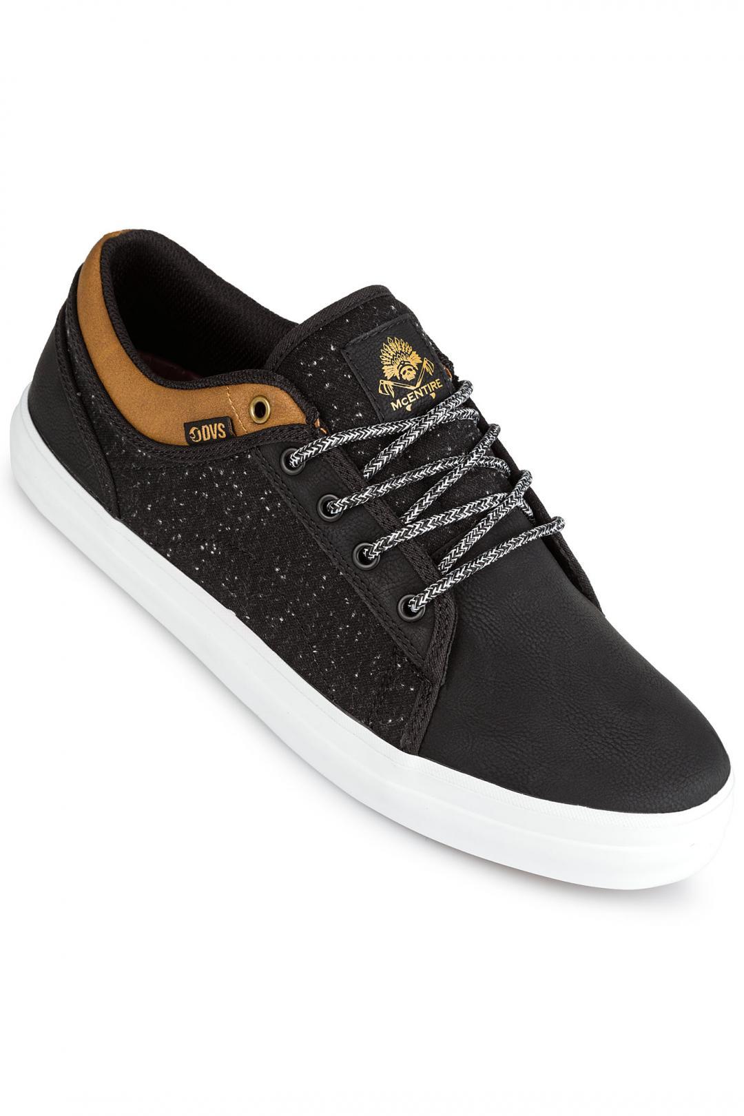 Uomo DVS Aversa black grainy brown mcentire | Sneakers low top