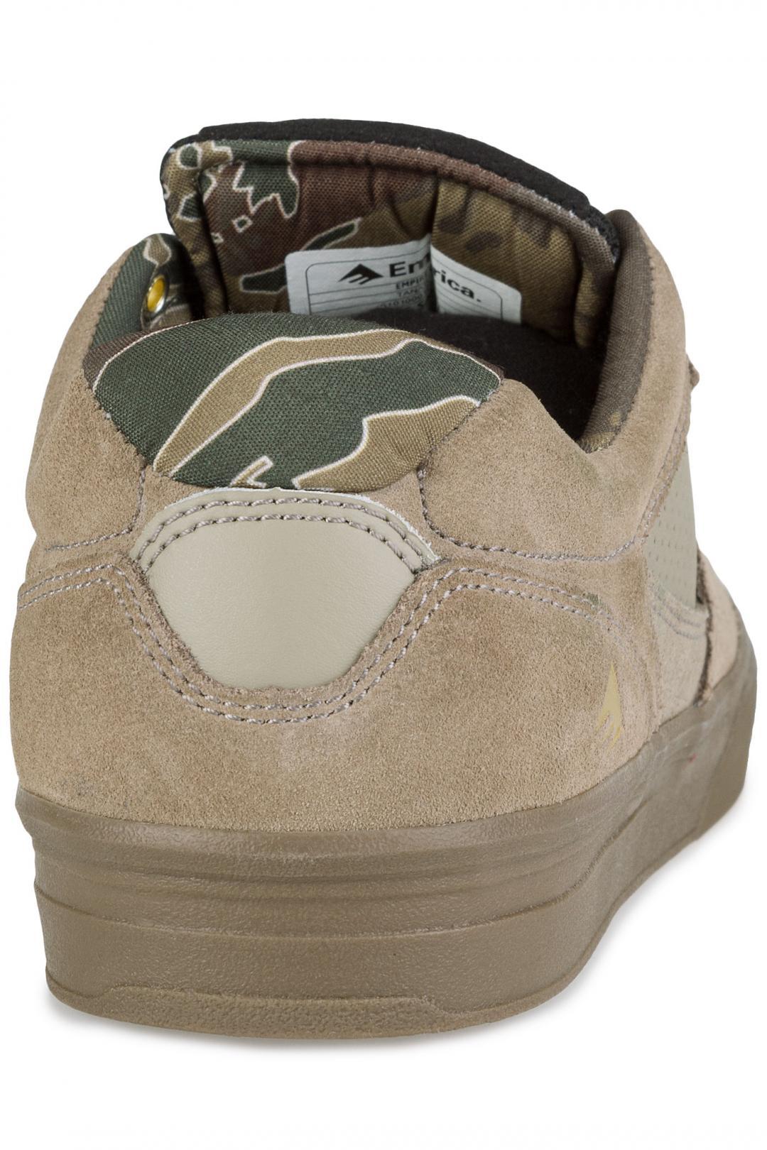 Uomo Emerica Empire G6 tan gum | Sneaker