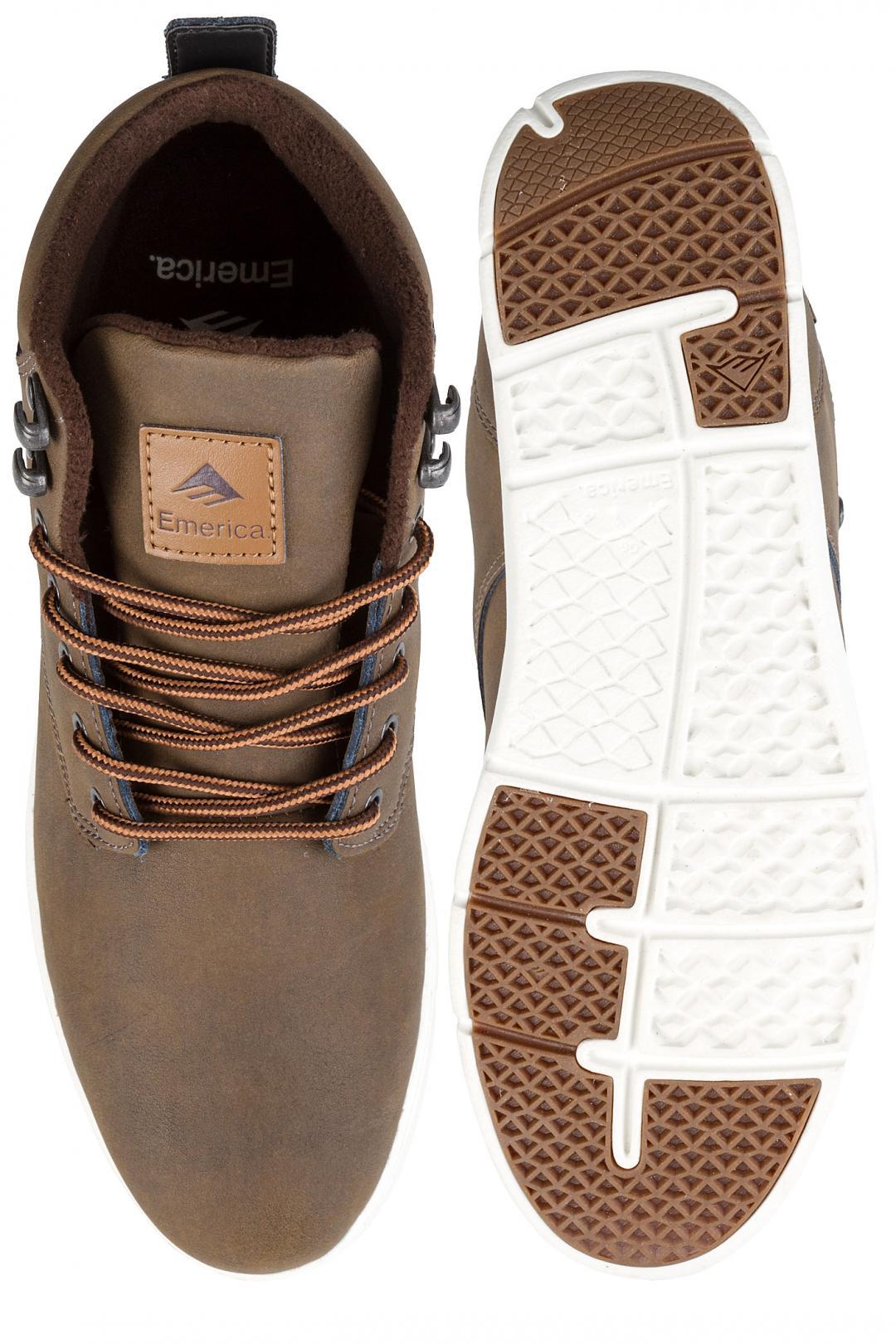 Uomo Emerica Wino Cruiser HLT dark brown   Sneaker