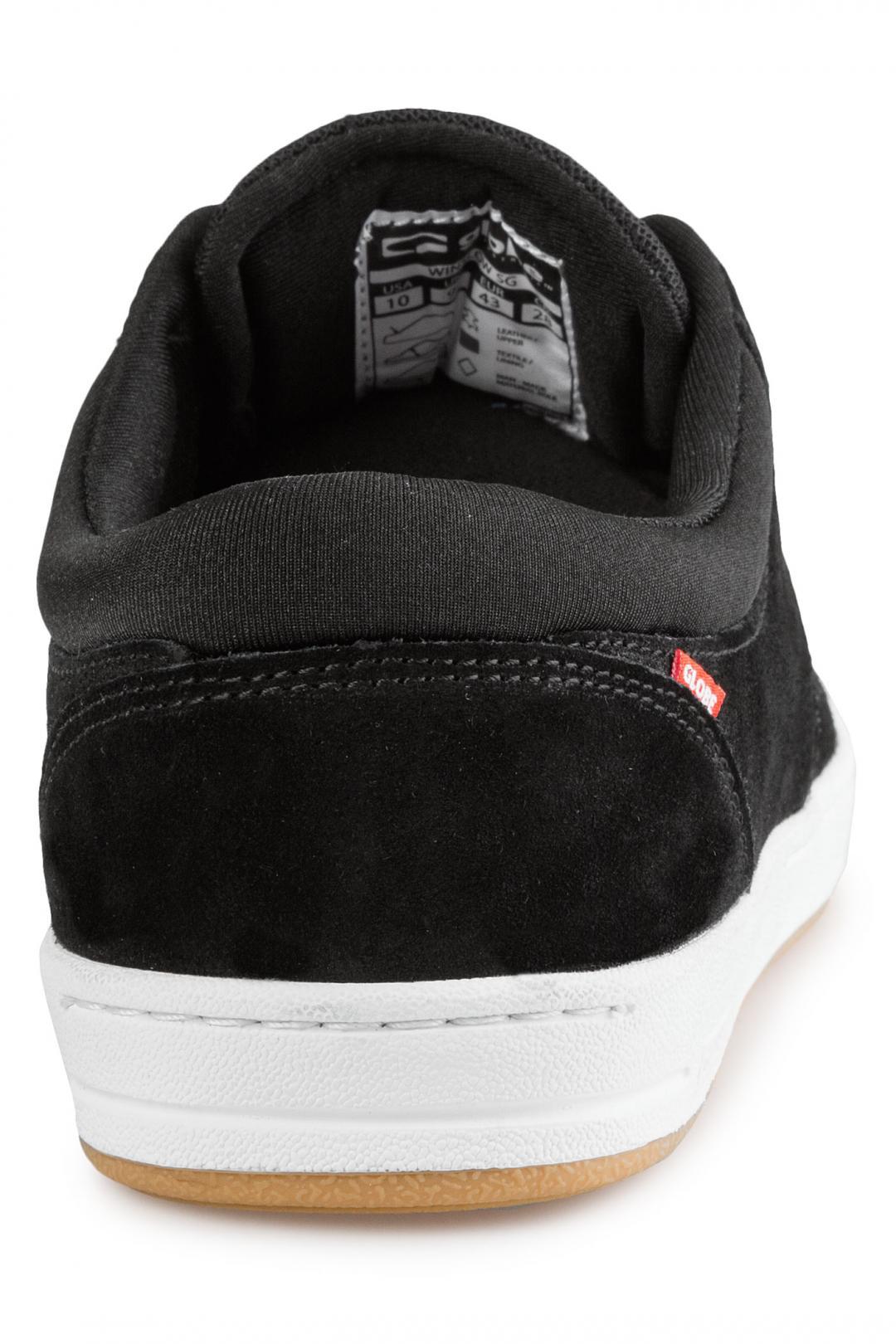 Uomo Globe Winslow SG black white | Sneakers low top
