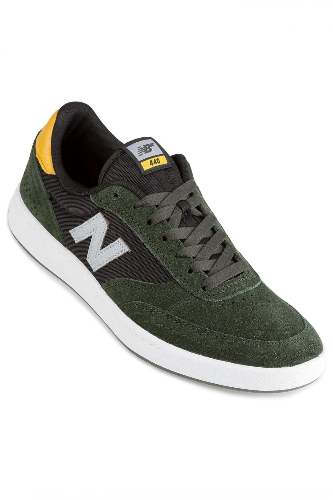 Uomo New Balance Numeric 440 green yellow | Sneaker