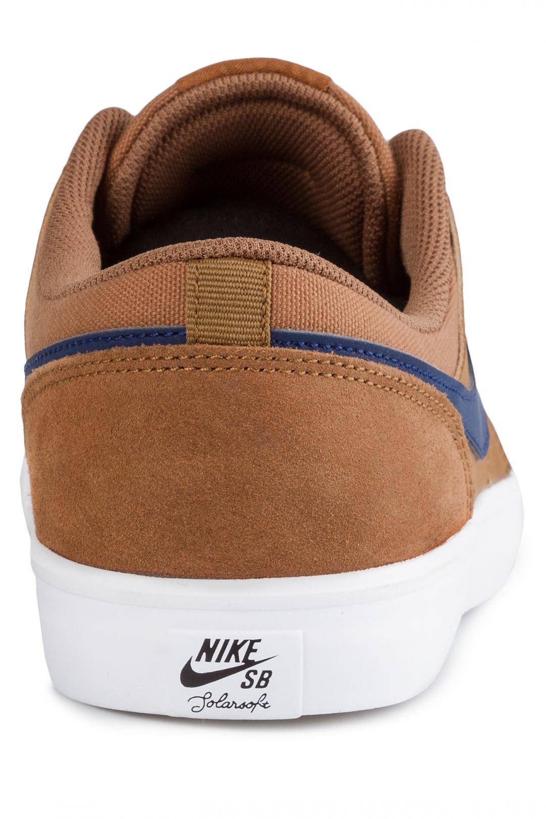 Uomo Nike SB Solarsoft Portmore II light british tan | Scarpe da skate
