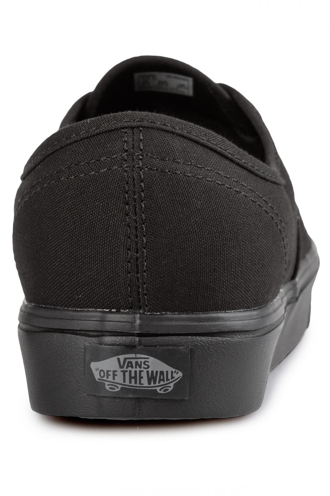 Uomo Vans Authentic Lite Canvas black | Sneaker