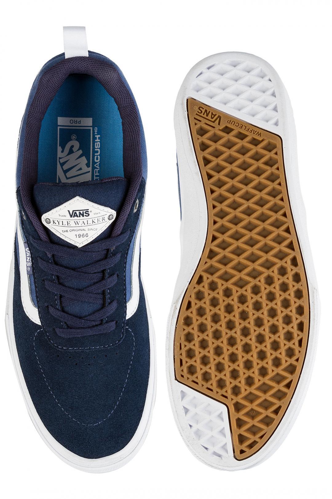 Uomo Vans Kyle Walker Pro dress blues vintage indigo white | Scarpe da skate