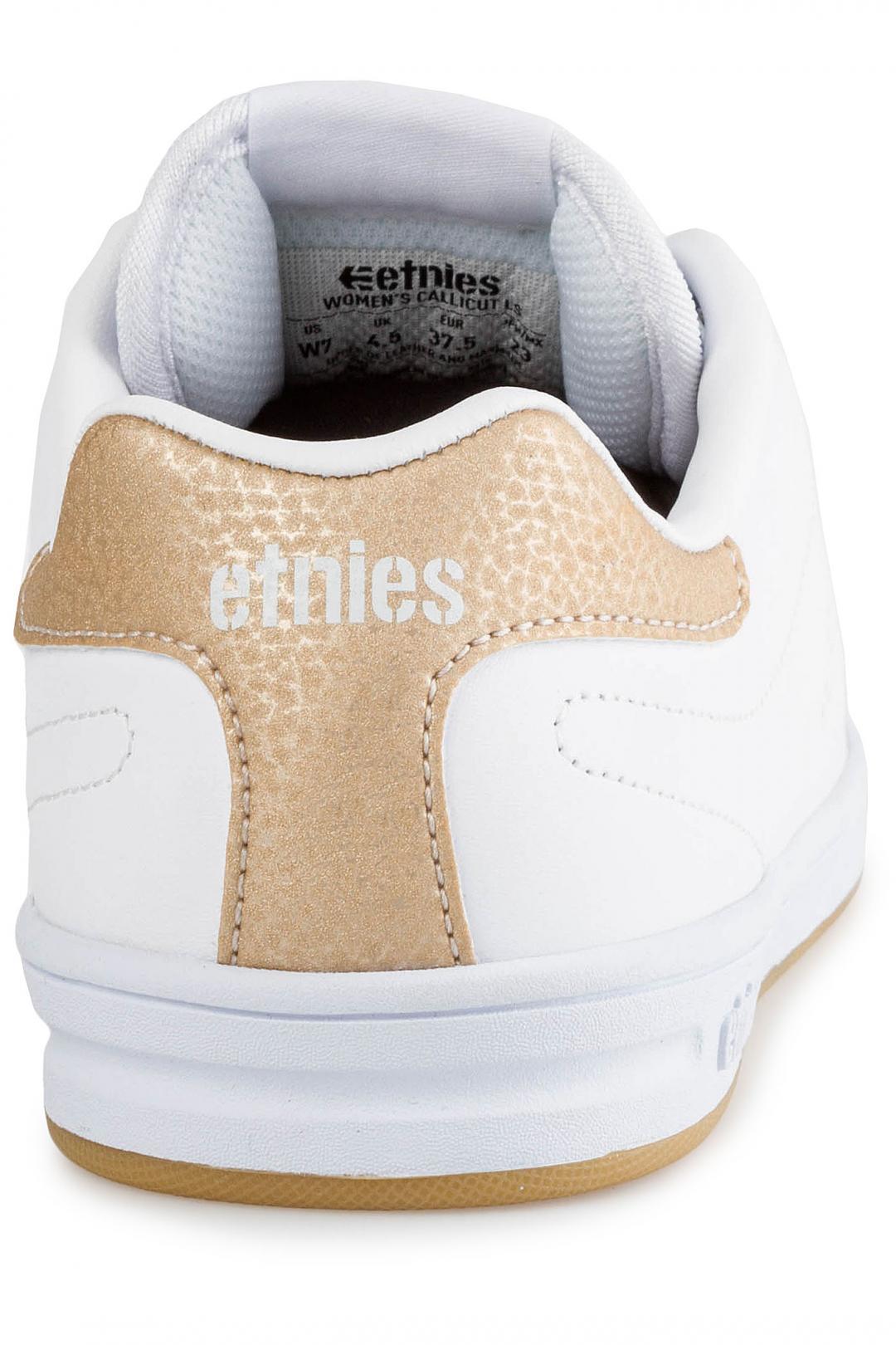 Donna Etnies Callicut LS white pink   Scarpe da skate