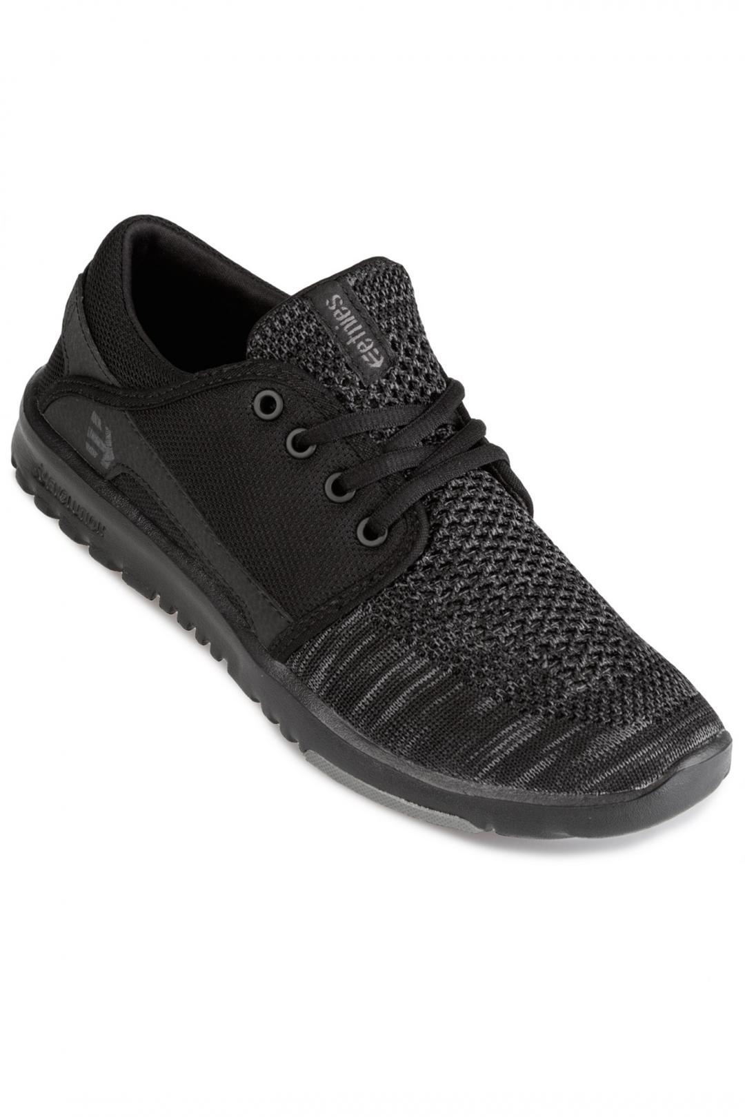 Donna Etnies Scout YB black grey black   Sneakers low top