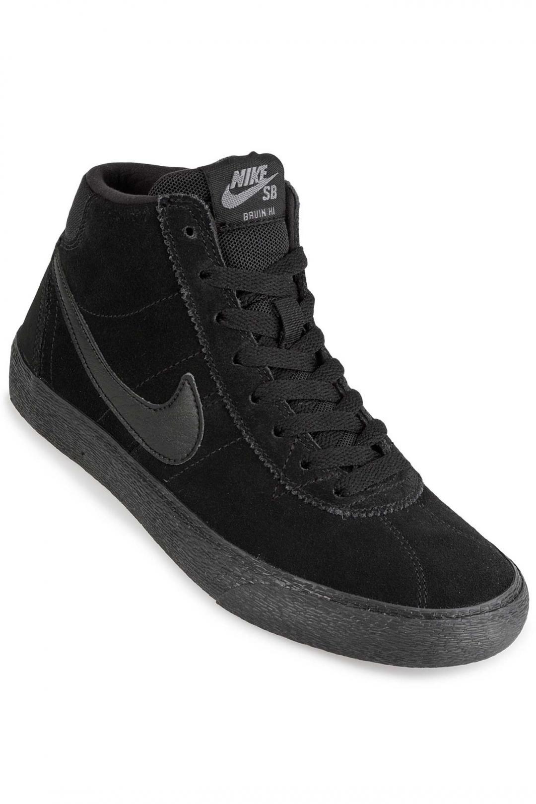 Donna Nike SB Bruin Hi black black gunsmoke | Sneakers high top