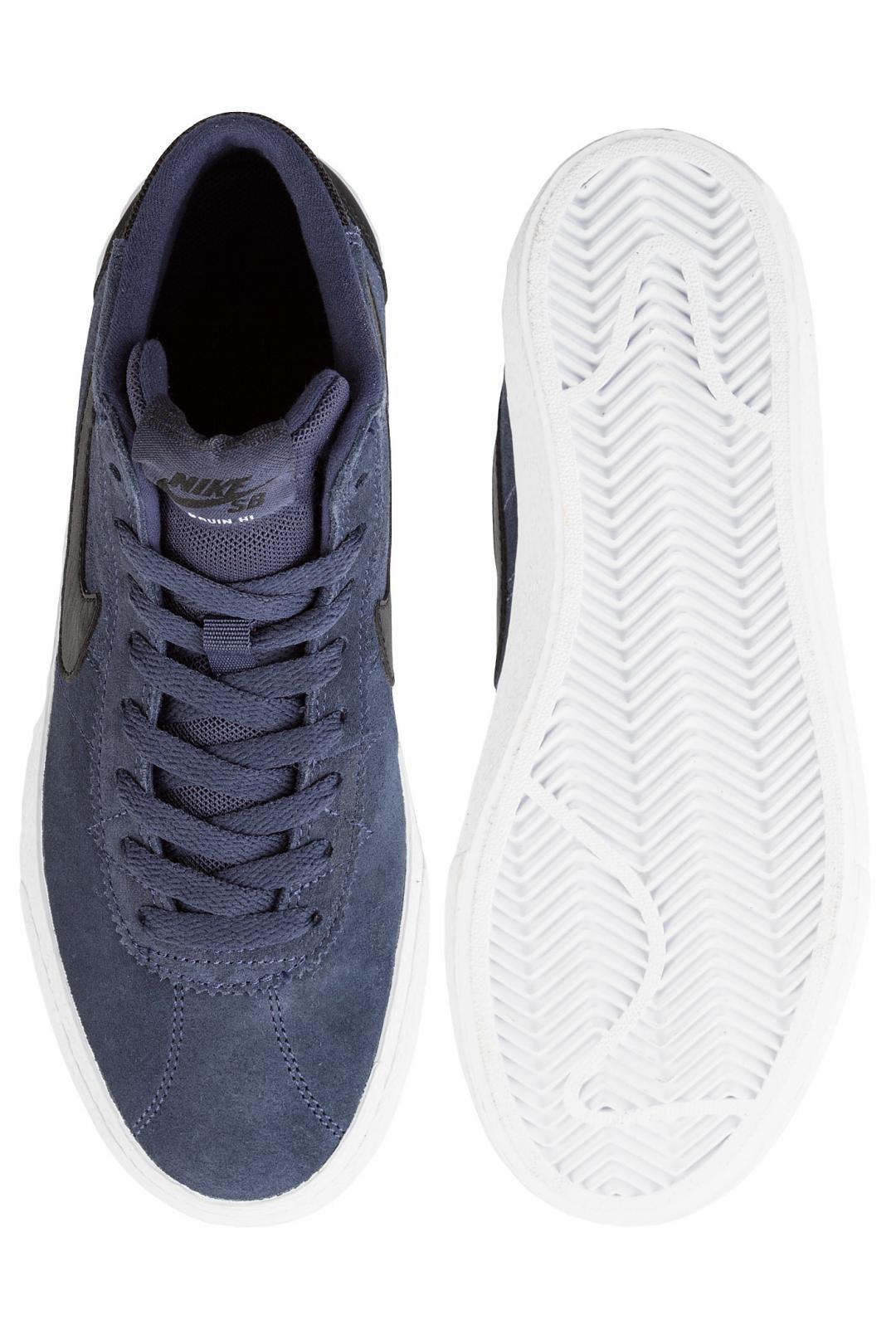 Donna Nike SB Bruin High thunder blue black | Sneakers high top