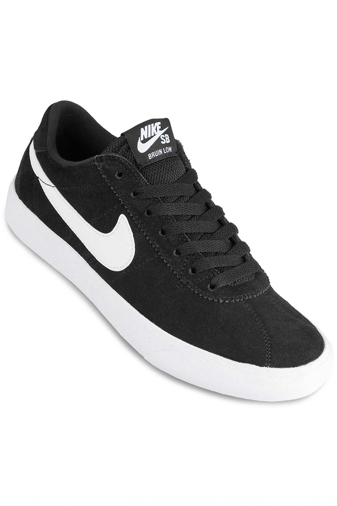 Donna Nike SB Bruin Lo black white | Sneaker