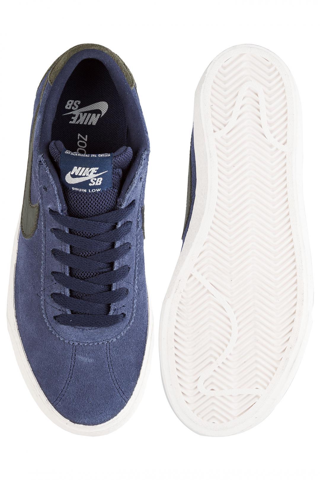 Donna Nike SB Bruin Lo obsidian phantom | Sneakers low top