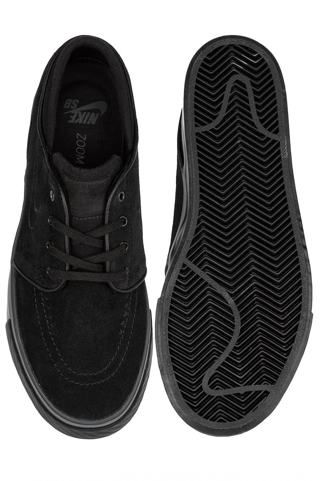 Donna Nike SB Zoom Stefan Janoski black black black | Sneakers low top