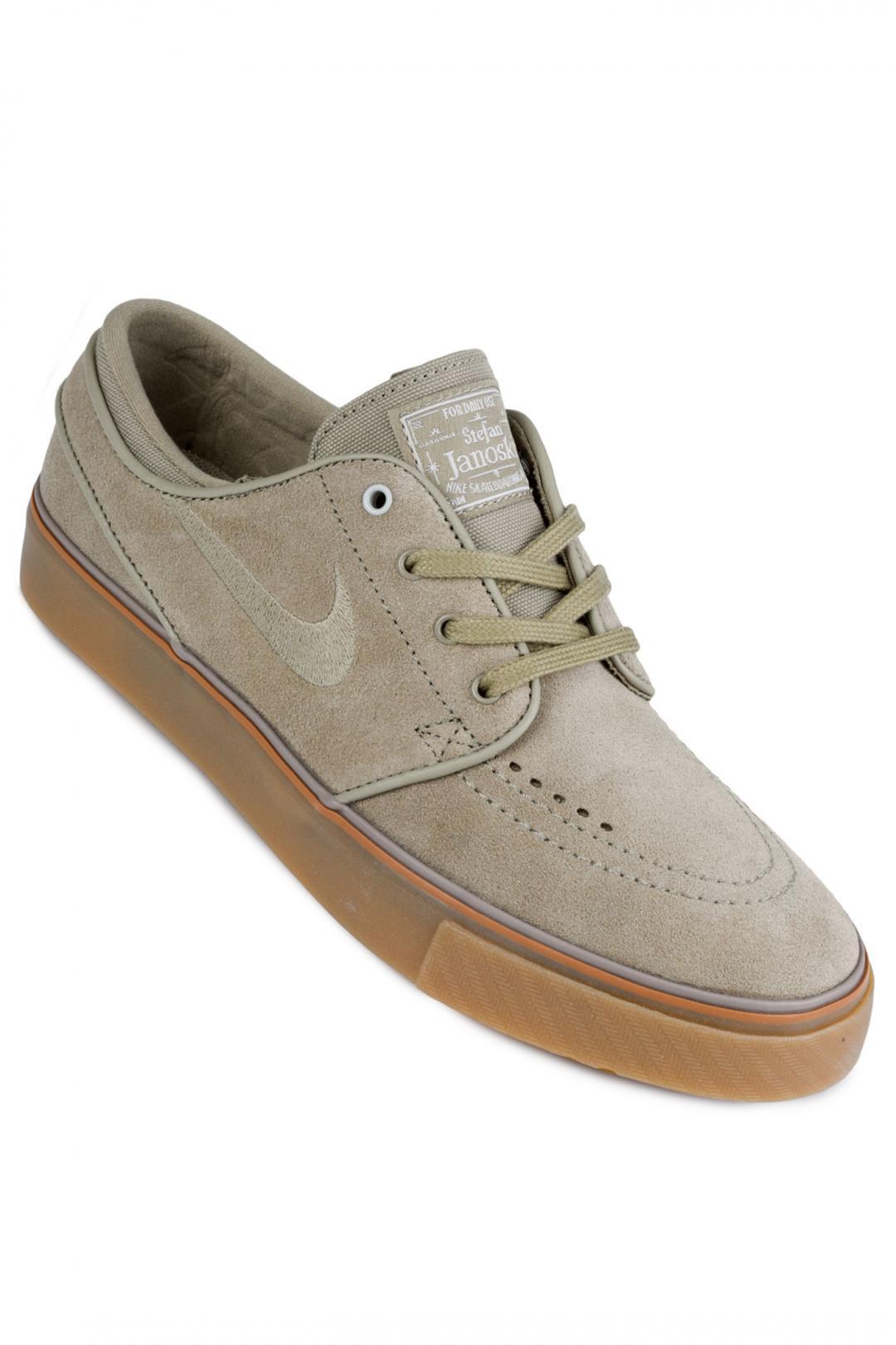 Donna Nike SB Zoom Stefan Janoski neutral olive | Sneakers low top