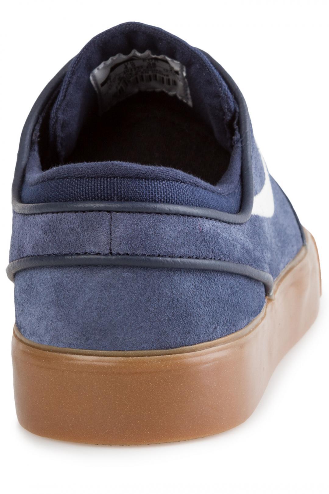 Donna Nike SB Zoom Stefan Janoski obsidian gum med brown   Sneaker