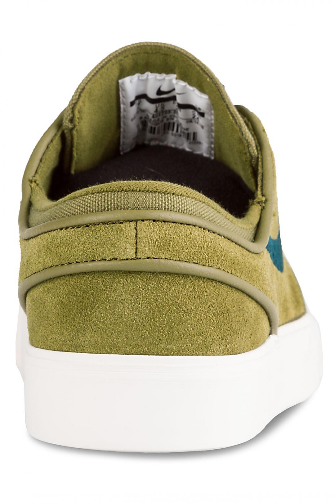 Donna Nike SB Zoom Stefan Janoski olive flak midnight spruce | Scarpe da skate