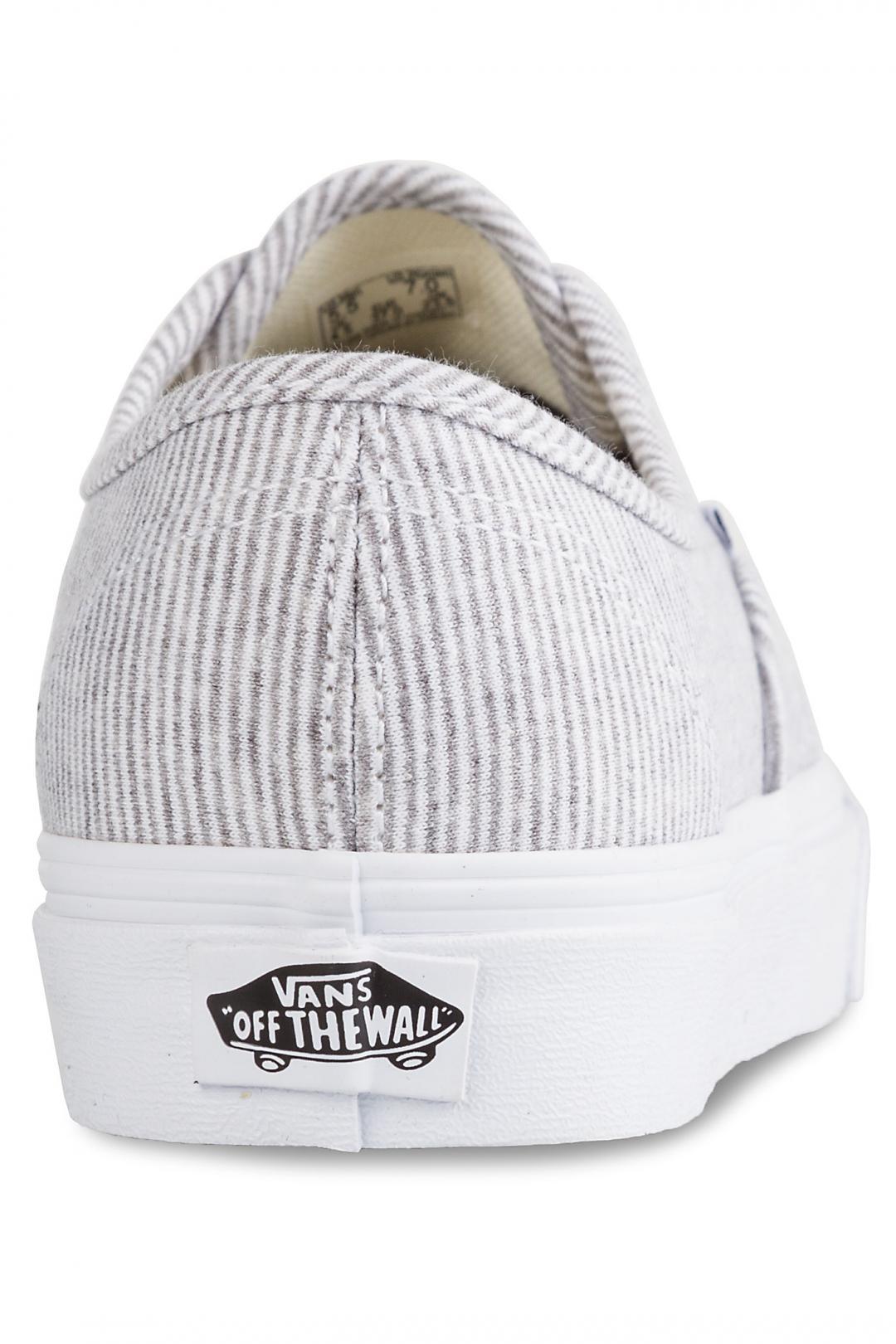 Donna Vans Authentic jersey grey   Sneakers low top