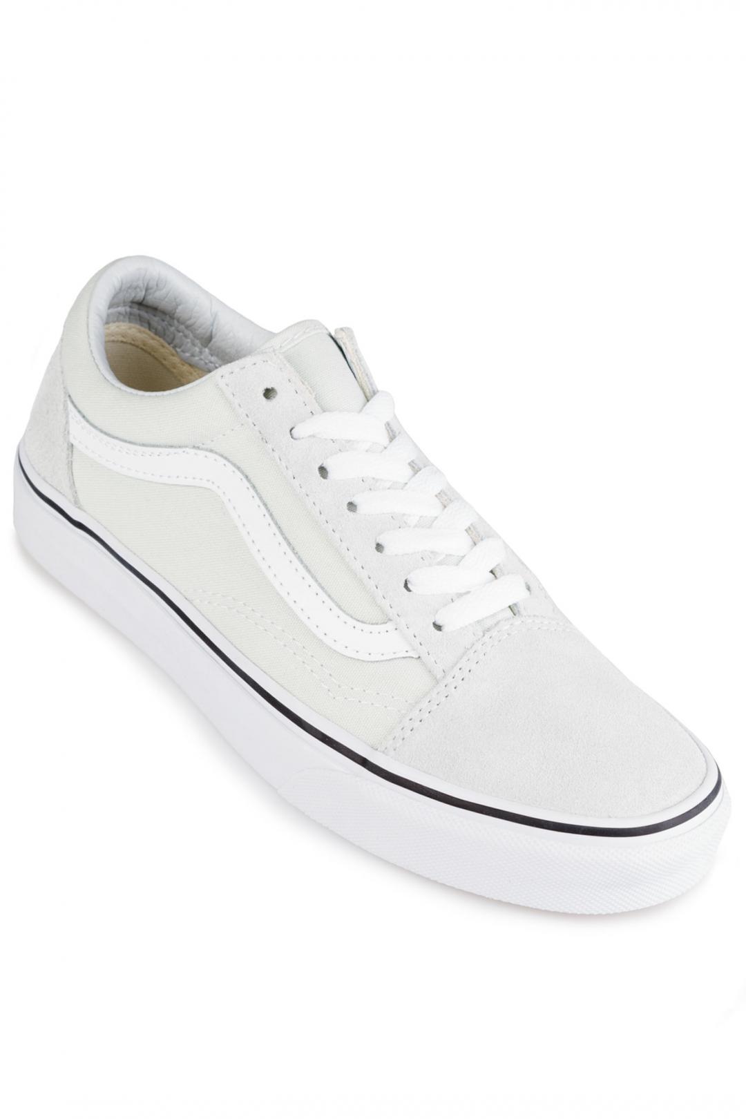 Donna Vans Old Skool blue flower   Sneakers low top