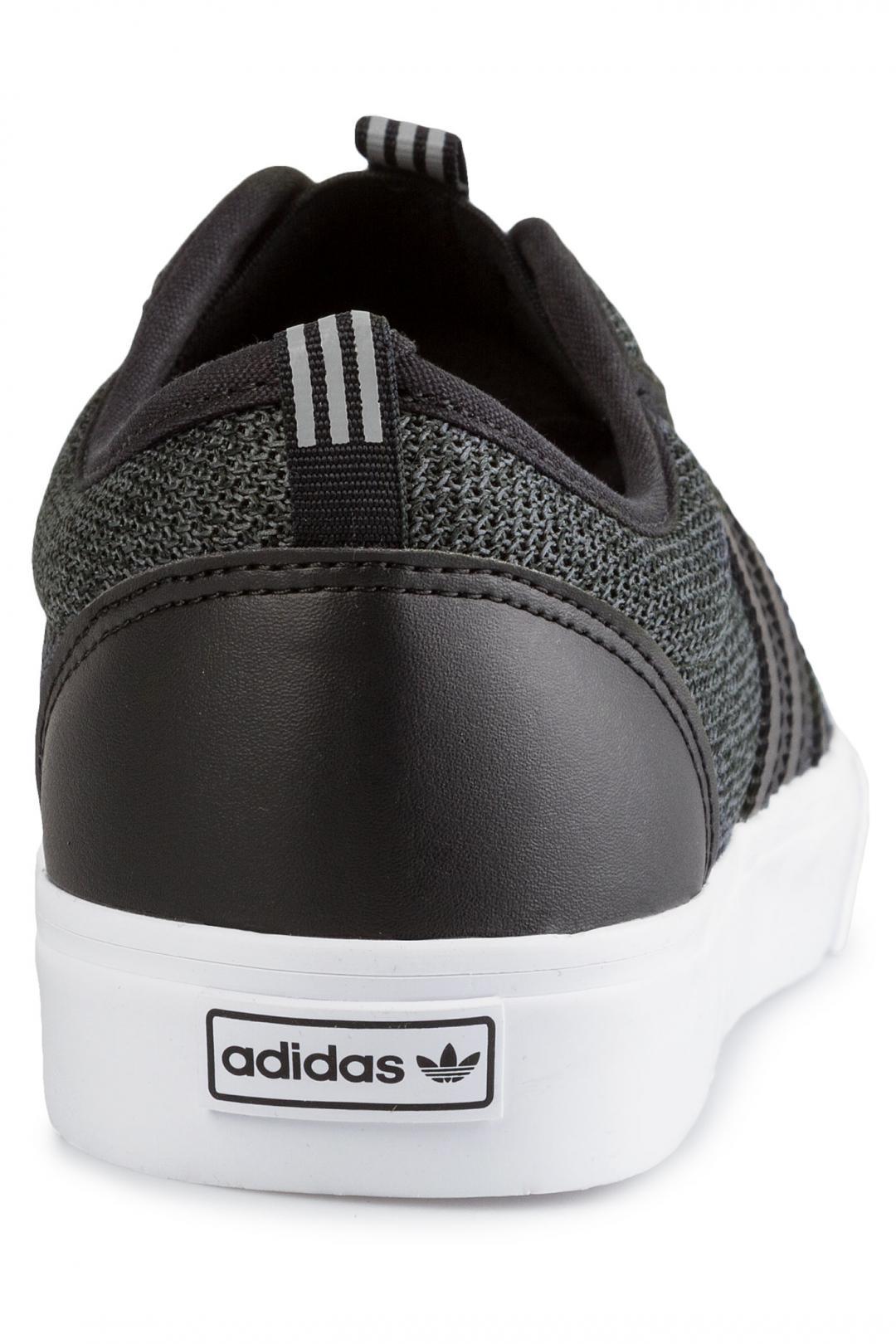 Uomo adidas Adi Ease Kung Fu core black grey white | Sneakers slip on