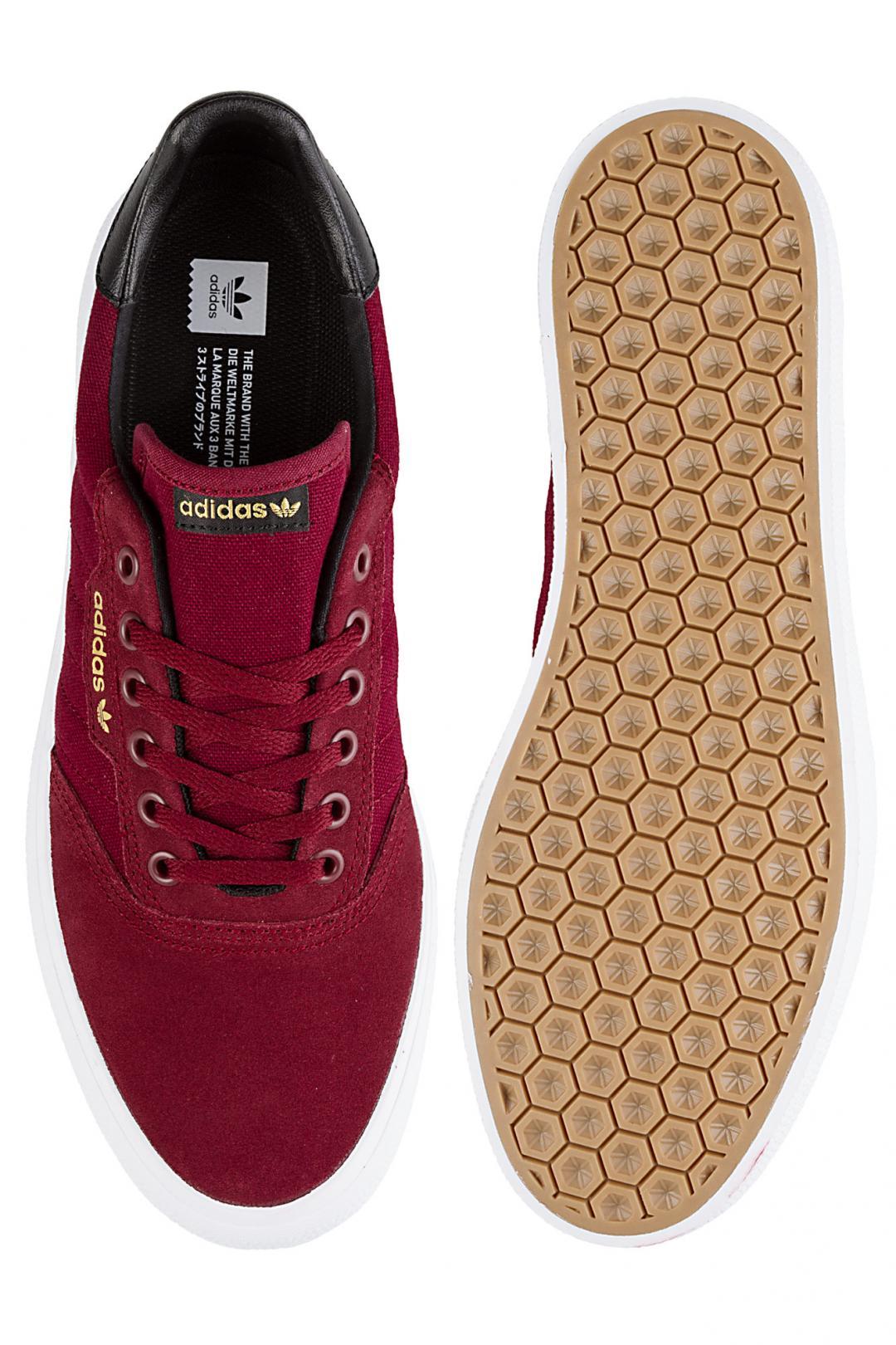 Uomo adidas Skateboarding 3MC collegiate burgundy core black g | Sneaker