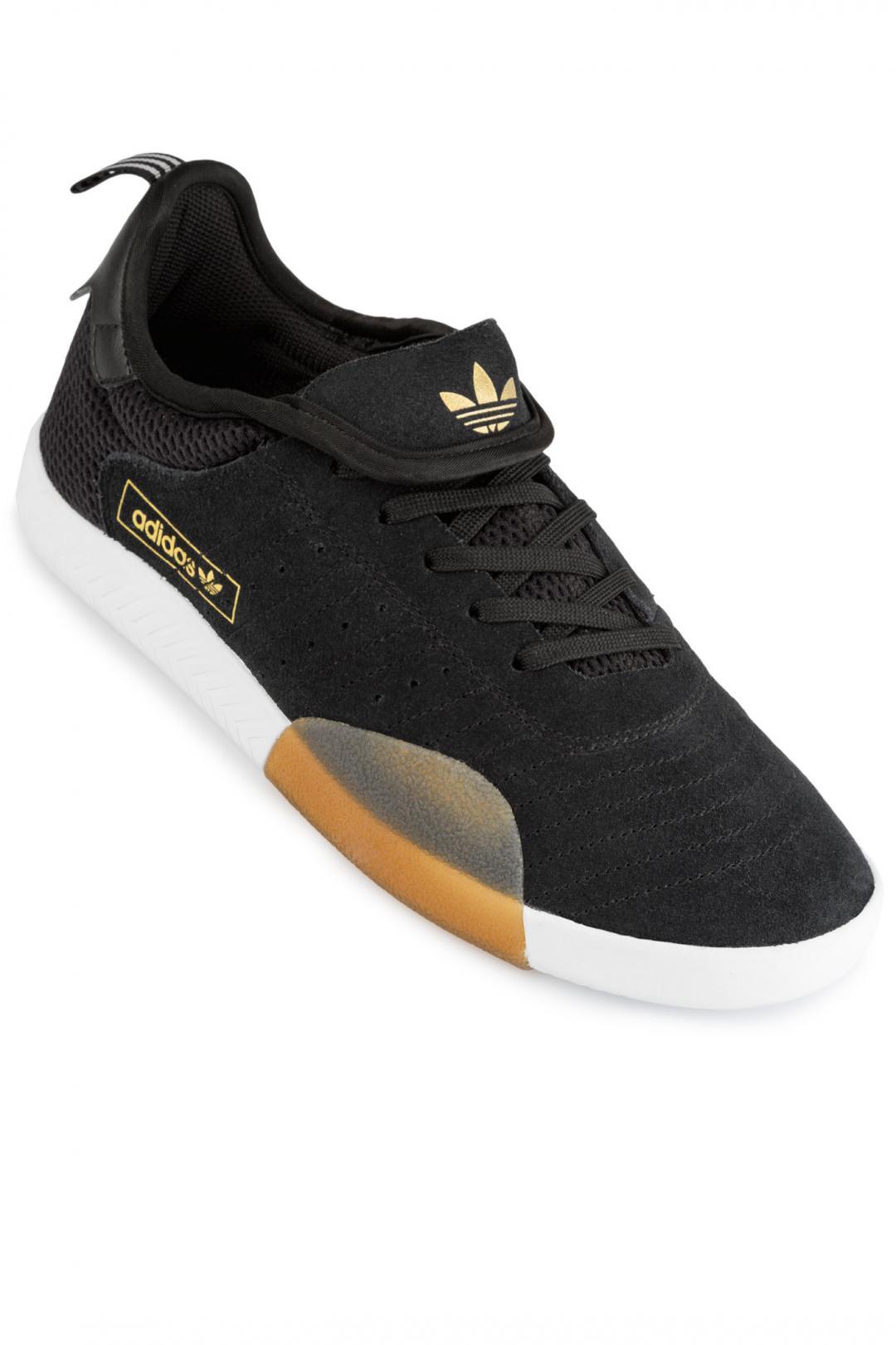 Uomo adidas Skateboarding 3ST.003 core black light granite   Sneaker
