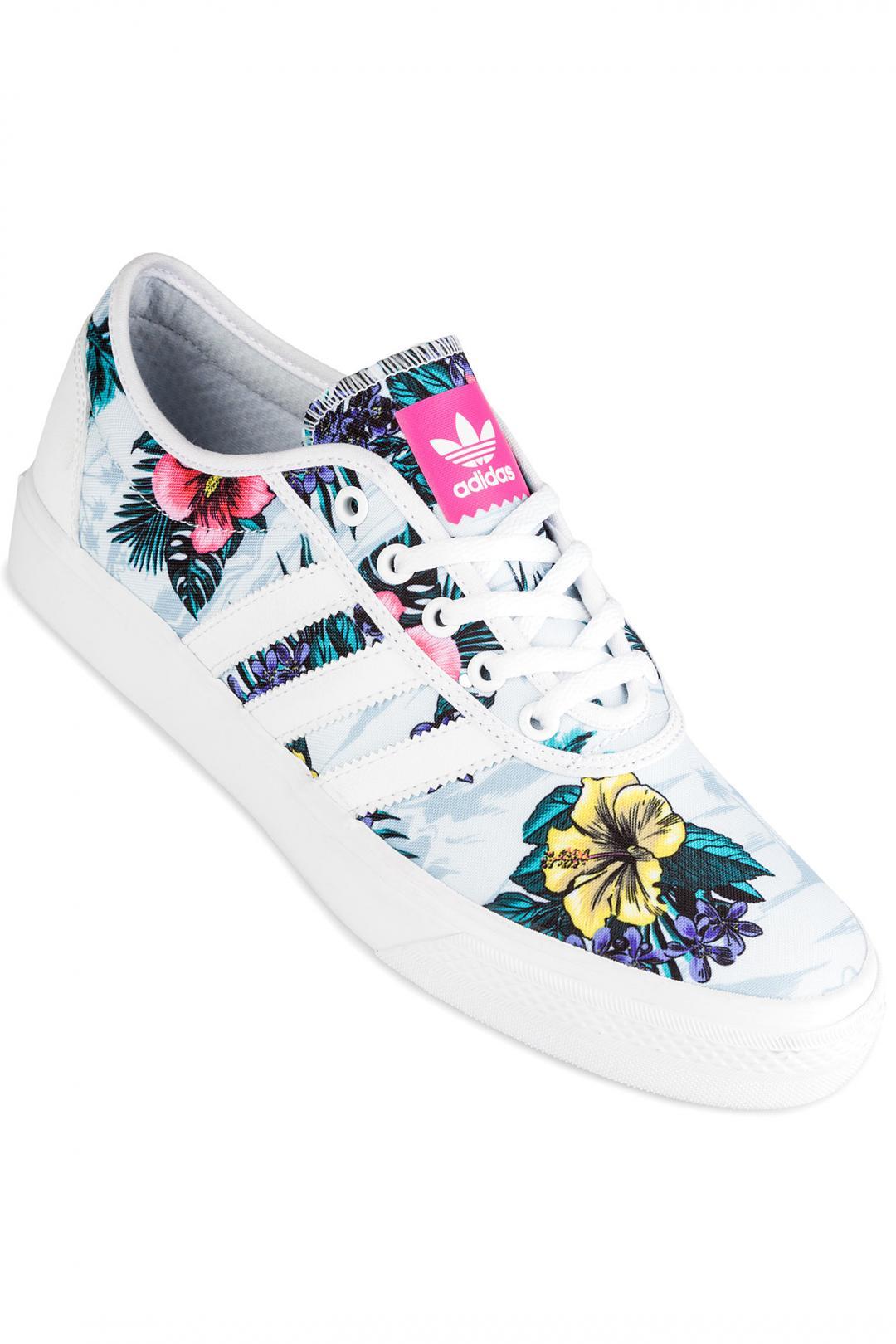 Uomo adidas Skateboarding Adi Ease blue tint white white | Sneakers low top