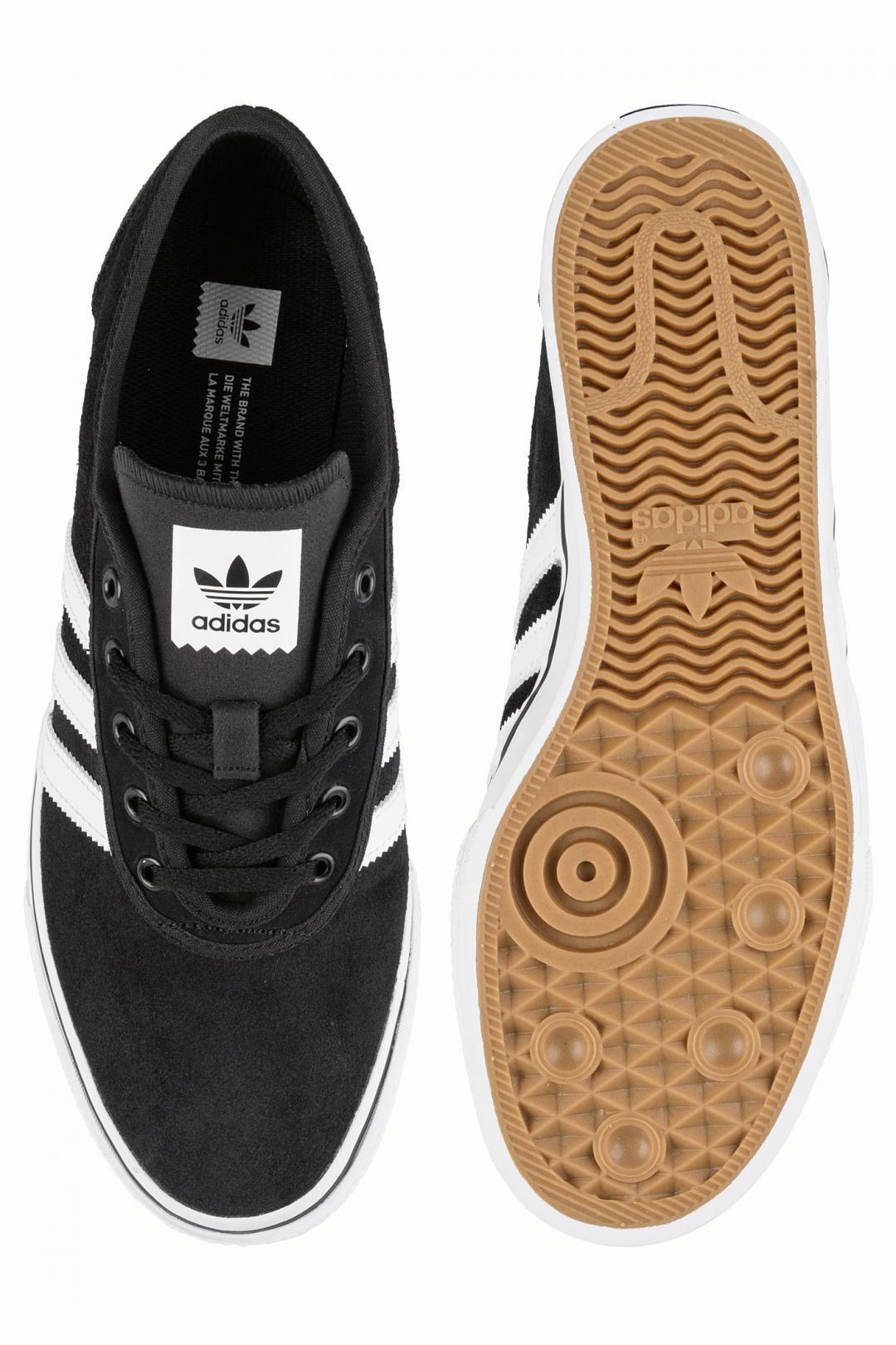 Uomo adidas Skateboarding Adi Ease core black white black   Sneaker