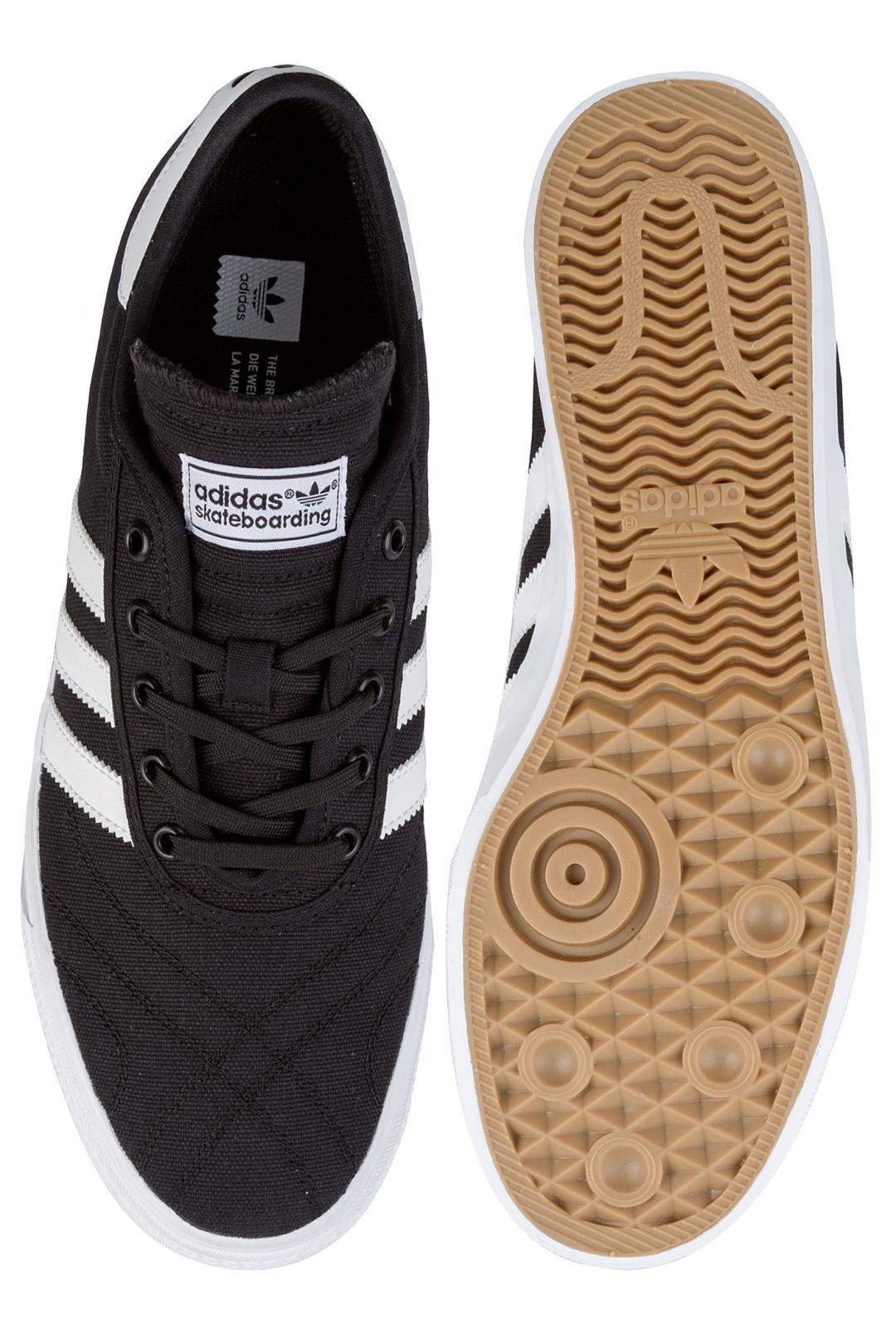 Uomo adidas Skateboarding Adi Ease Premiere core black white gum | Scarpe da skate