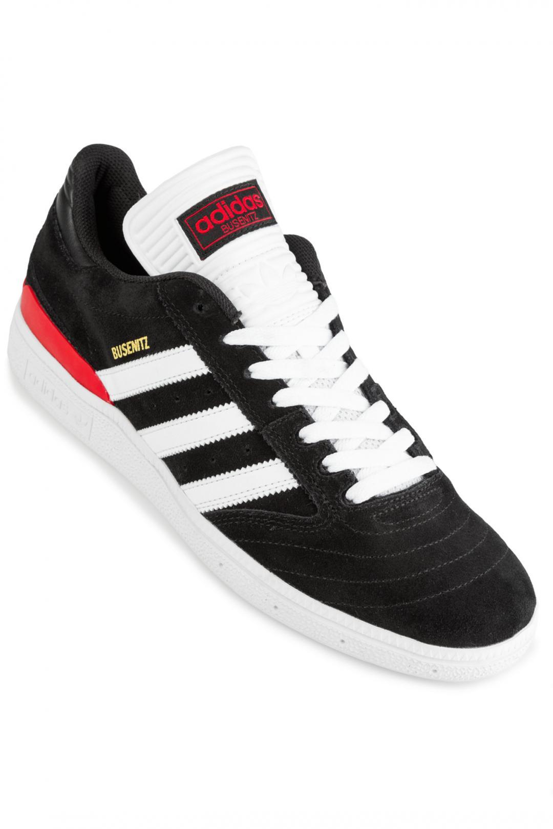 Uomo adidas Skateboarding Busenitz core black white scarlet | Scarpe da skate