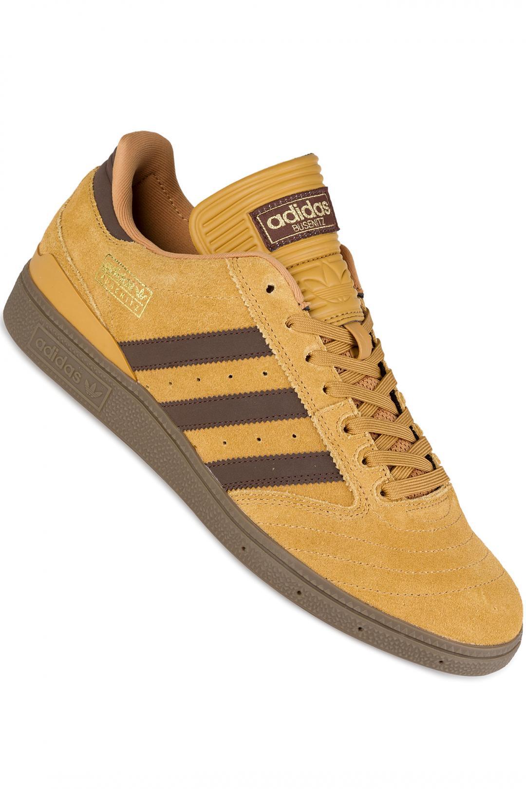 Uomo adidas Skateboarding Busenitz mesa brown gold | Sneaker