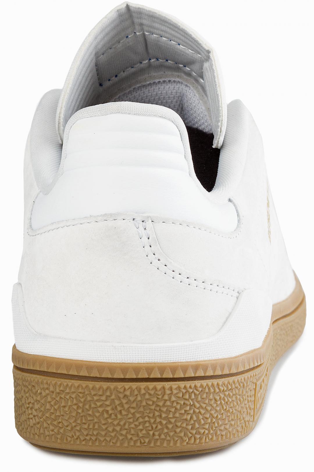 Uomo adidas Skateboarding Busenitz RX white gum gold | Scarpe da skate