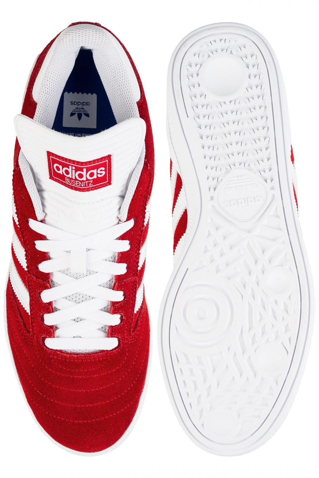 Uomo adidas Skateboarding Busenitz scarlet white white   Sneaker