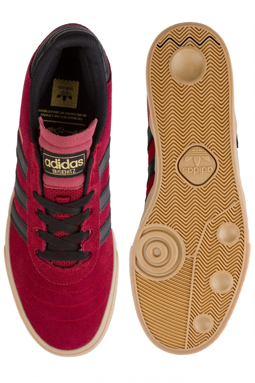 Uomo adidas Skateboarding Busenitz Vulc core burgundy black gum | Sneakers low top