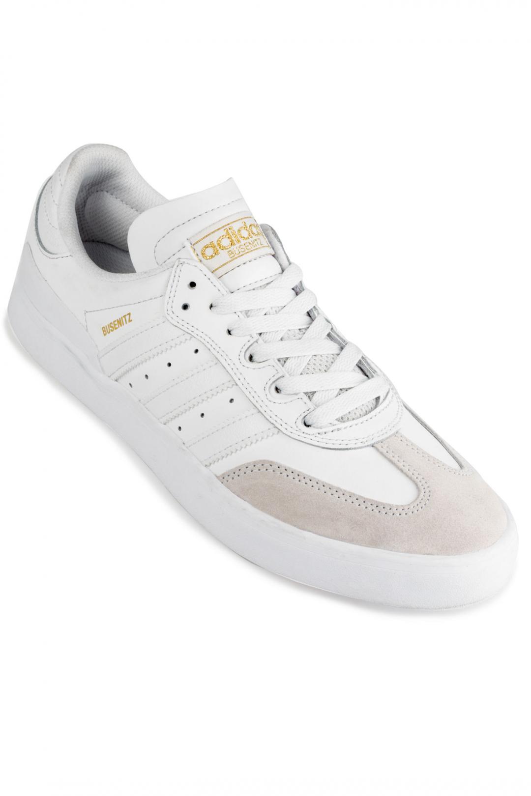 Uomo adidas Skateboarding Busenitz Vulc RX crystal white white | Scarpe da skate