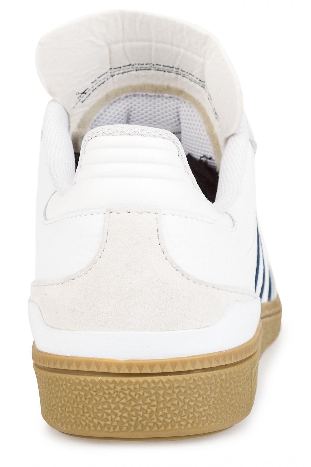 Uomo adidas Skateboarding Busenitz white collegiate burgundy clear | Sneakers low top