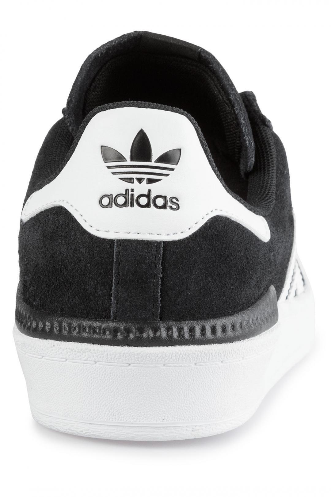 Uomo adidas Skateboarding Campus ADV core black white white | Scarpe da skate