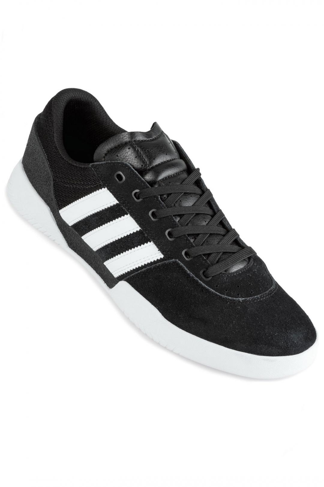 Uomo adidas Skateboarding City Cup core black white white | Scarpe da skate