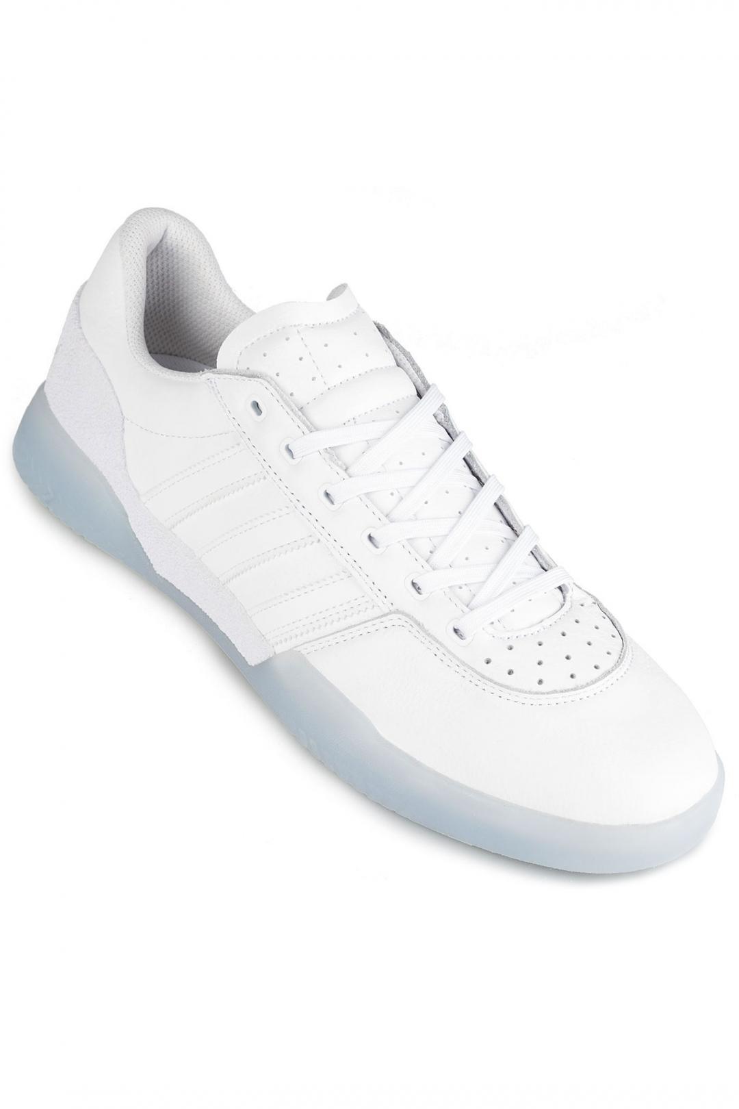 Uomo adidas Skateboarding City Cup white white gold | Scarpe da skate